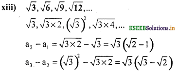 KSEEB Solutions for Class 10 Maths Chapter 1 Arithmetic Progressions Ex 1.1 14