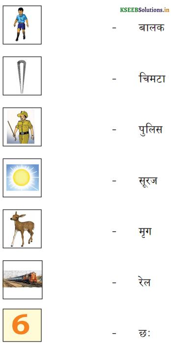 KSEEB Solutions for Class 6 Hindi वल्लरी Chapter 4 स्वर और उनकी मात्राएँ 18