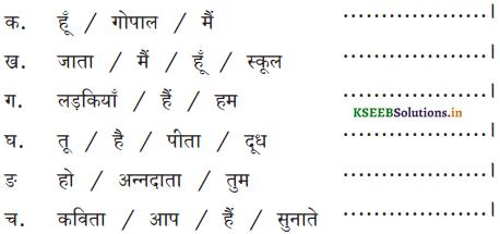 KSEEB Solutions for Class 6 Hindi वल्लरी Chapter 8 मैं, हम, तू, तुम, आप 8