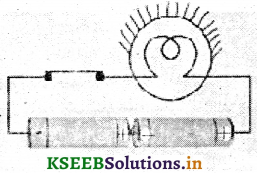 KSEEB Solutions for Class 7 Science Chapter 14 Electric Current and its Effects 9