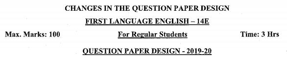 Karnataka SSLC English Model Question Papers with Answers 1st Language