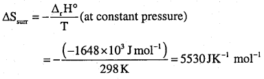 1st PUC Chemistry Question Bank Chapter 6 Thermodynamics - 24
