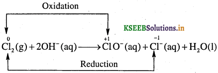 1st PUC Chemistry Question Bank Chapter 8 Redox Reactions - 12