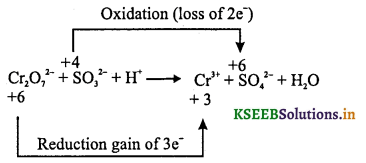 1st PUC Chemistry Question Bank Chapter 8 Redox Reactions - 15