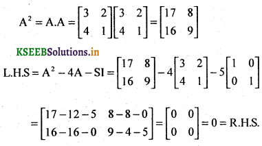 2nd PUC Basic Maths Question Bank Chapter 1 Matrices and Determinants 16