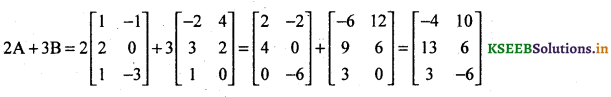 2nd PUC Basic Maths Question Bank Chapter 1 Matrices and Determinants 26