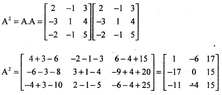 2nd PUC Basic Maths Question Bank Chapter 1 Matrices and Determinants 29