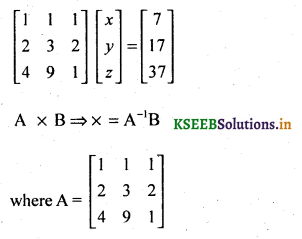 2nd PUC Basic Maths Question Bank Chapter 1 Matrices and Determinants 75