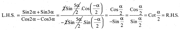 2nd PUC Basic Maths Question Bank Chapter 14 Compound Angles, Multiple Angles, Sub Multiples Angles and Transformation Formulae 27