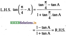 2nd PUC Basic Maths Question Bank Chapter 14 Compound Angles, Multiple Angles, Sub Multiples Angles and Transformation Formulae 5