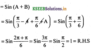 2nd PUC Basic Maths Question Bank Chapter 14 Compound Angles, Multiple Angles, Sub Multiples Angles and Transformation Formulae 52
