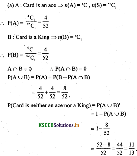 2nd PUC Basic Maths Question Bank Chapter 3 Probability 26