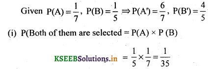 2nd PUC Basic Maths Question Bank Chapter 3 Probability 29