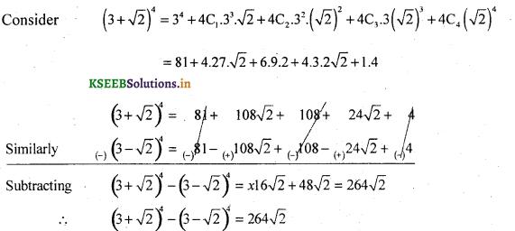 2nd PUC Basic Maths Question Bank Chapter 4 Binomial Theorem 9