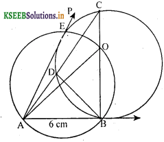 KSEEB Solutions for Class 10 Maths Chapter 6 Constructions Ex 6.2 6