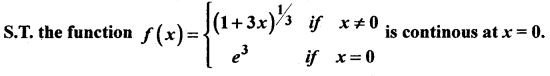 2nd PUC Basic Maths Question Bank Chapter 17 Limit and Continuity of a Function 127