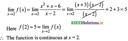 2nd PUC Basic Maths Question Bank Chapter 17 Limit and Continuity of a Function 141
