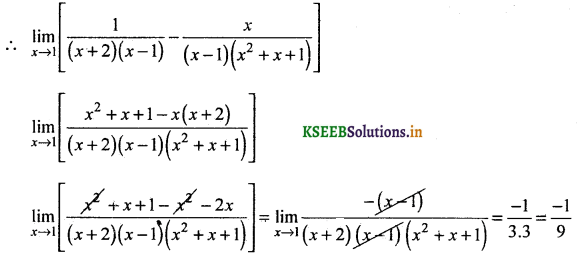 2nd PUC Basic Maths Question Bank Chapter 17 Limit and Continuity of a Function 34