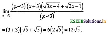 2nd PUC Basic Maths Question Bank Chapter 17 Limit and Continuity of a Function 45