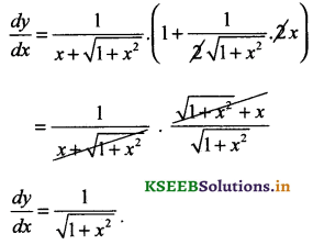 2nd PUC Basic Maths Question Bank Chapter 18 Differential Calculus 12