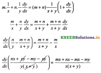 2nd PUC Basic Maths Question Bank Chapter 18 Differential Calculus 40