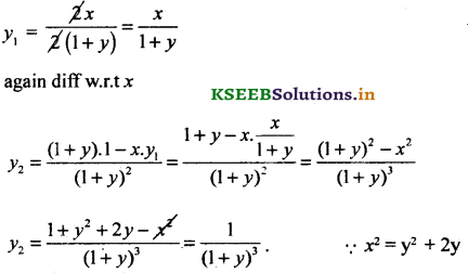 2nd PUC Basic Maths Question Bank Chapter 18 Differential Calculus 42