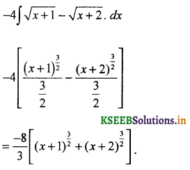 2nd PUC Basic Maths Question Bank Chapter 20 Indefinite Integrals 32