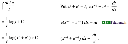 2nd PUC Basic Maths Question Bank Chapter 20 Indefinite Integrals 36