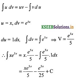 2nd PUC Basic Maths Question Bank Chapter 20 Indefinite Integrals 39