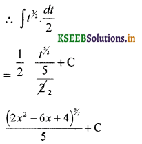 2nd PUC Basic Maths Question Bank Chapter 20 Indefinite Integrals 52