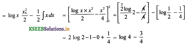 2nd PUC Basic Maths Question Bank Chapter 21 Definite Integral and its Applications to Areas 47