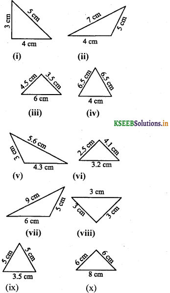 KSEEB Solutions for Class 8 Maths Chapter 6 Theorems on