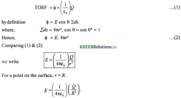 2nd PUC Physics Question Bank Chapter 1 Electric Charges and Fields 35