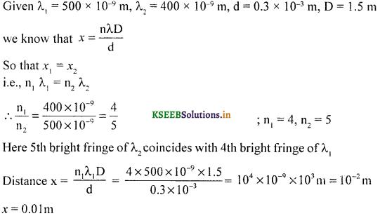 2nd PUC Physics Question Bank Chapter 10 Wave Optics 51