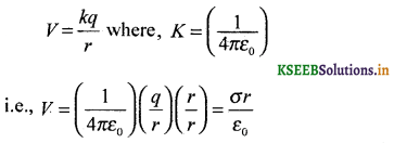 2nd PUC Physics Question Bank Chapter 2 Electrostatic Potential and Capacitance 16