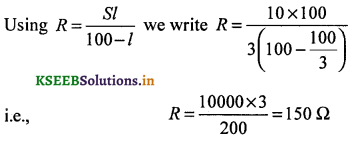 2nd PUC Physics Question Bank Chapter 3 Current Electricity 18