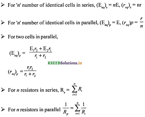2nd PUC Physics Question Bank Chapter 3 Current Electricity 49