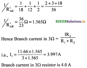 2nd PUC Physics Question Bank Chapter 3 Current Electricity 52