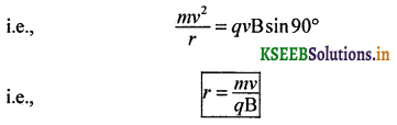 2nd PUC Physics Question Bank Chapter 4 Moving Charges and Magnetism 30