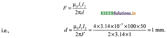 2nd PUC Physics Question Bank Chapter 4 Moving Charges and Magnetism 83