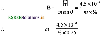 2nd PUC Physics Question Bank Chapter 5 Magnetism and Matter 31