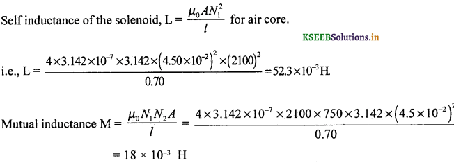 2nd PUC Physics Question Bank Chapter 6 Electro Magnetic Induction 24