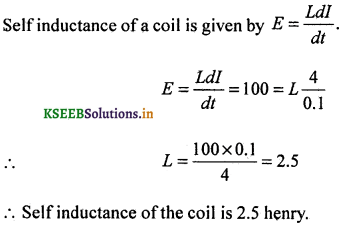 2nd PUC Physics Question Bank Chapter 6 Electro Magnetic Induction 27