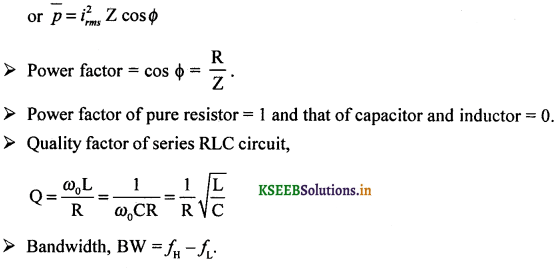 2nd PUC Physics Question Bank Chapter 7 Alternating Current 59