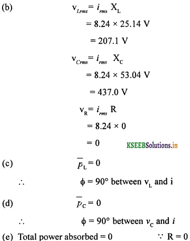 2nd PUC Physics Question Bank Chapter 7 Alternating Current 86
