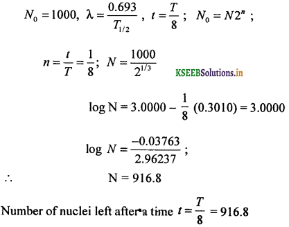 2nd PUC Physics Question Bank Chapter 13 Nuclei 21
