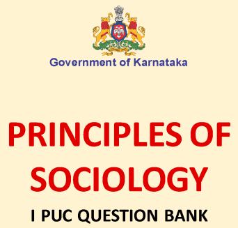 Karnataka 1st PUC Sociology Question Bank with Answers