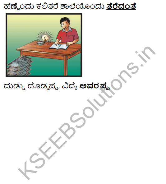 Tili Kannada Text Book Class 6 Solutions Purva Siddata Pathagalu 11
