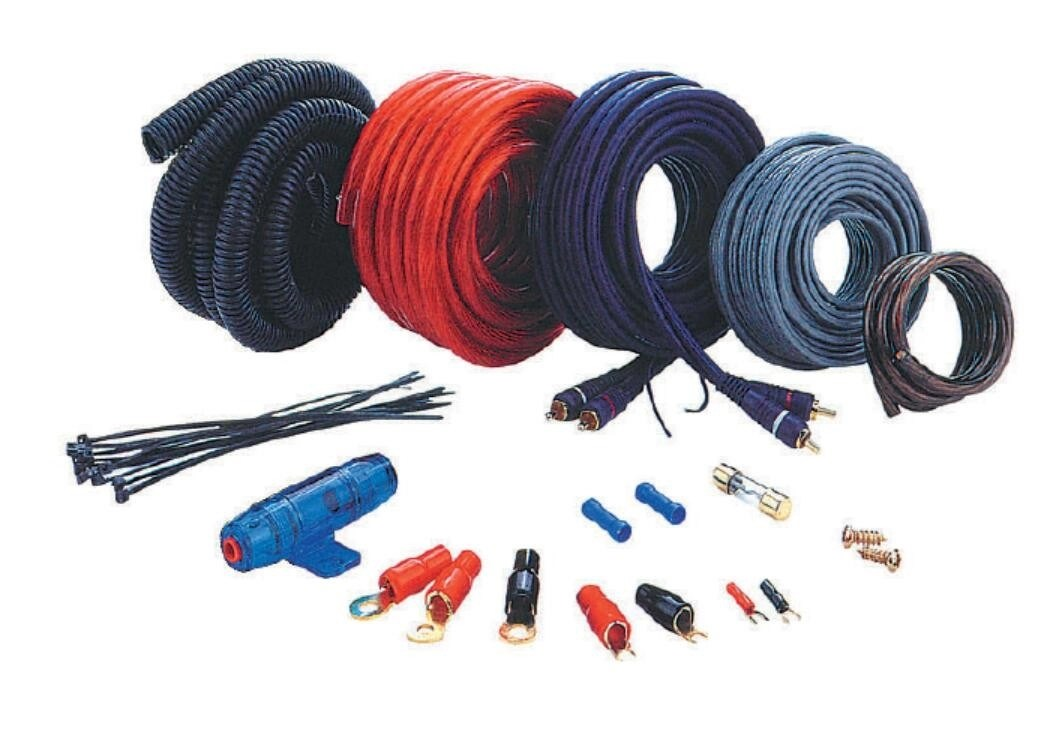 KT-AMPKITS-2 4GA Amplifier Wiring Kit