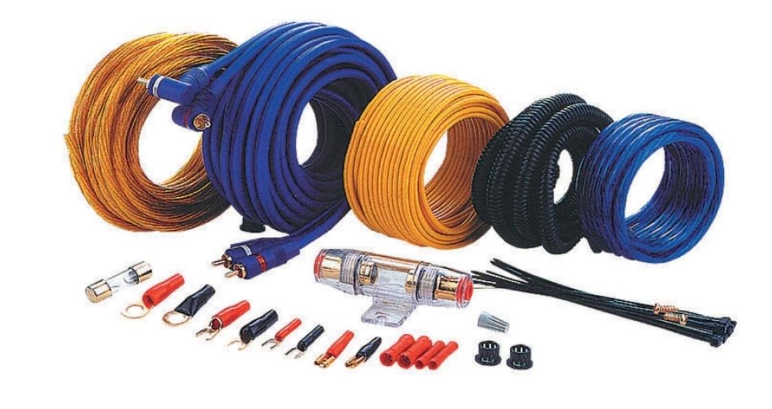 KT-AMPKITS-3 8GA Amplifier Wiring Kit